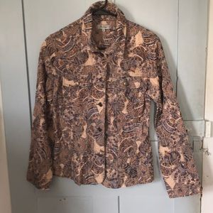 Analogy Jean jacket with cowboy styling